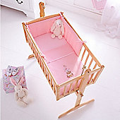 Clair de Lune 2pc Crib Set (Tippy Tumble Pink)