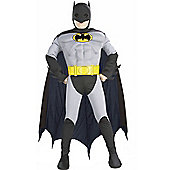 Child Muscle Chest Batman Super Hero Small