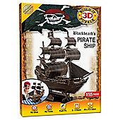 3D Pirate Puzzle Ship