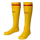 2014-15 Liverpool Away Socks (Yellow) - Kids - Yellow