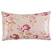 Sequin Floral Cushion