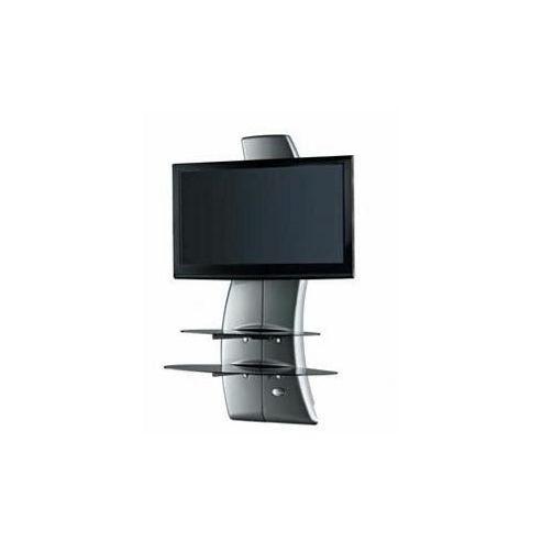 Triskom TV Stand - Metallic Grey