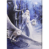 Anne Stokes Midnight Messenger Canvas Print