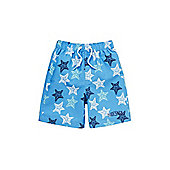 Dudeskin Starfish Board Shorts - Blue