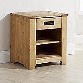 Elements Bristol 1 Drawer Bedside Table