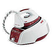 Vaporella Forever 630 Ceramic Plate Steam Generator Iron - Red & White