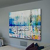 Parvez Taj Morrison Lake Wall Art - 61 cm H x 91 cm W x 5 cm D