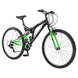 "Saxon Drift 26"" Dual Suspension Mountain Bike, 18"" Frame"