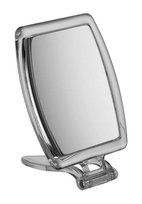 FMB 10x Magnification Perspex Handbag Mirror