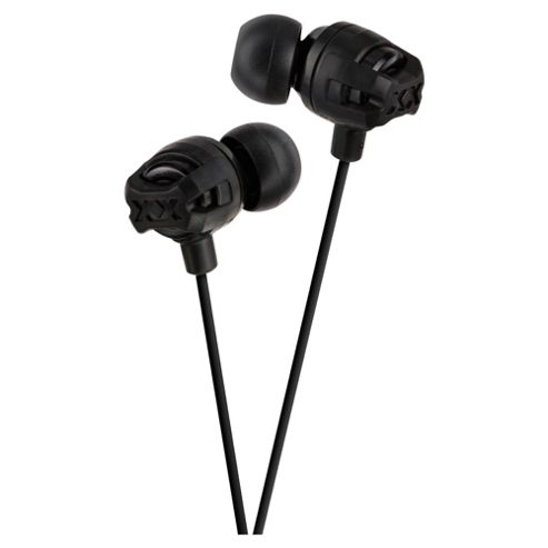 JVC HA-FR201 Xtreme Xplosives In-Ear Headphones - Black