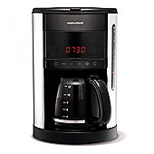 Morphy Richards 162003 12 Cup Digital Filter Coffee Maker in Black