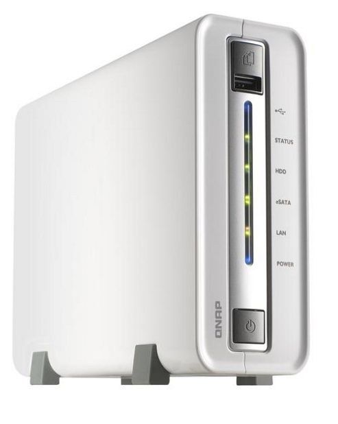 QNAP Systems, Inc TS-112 500GB Network Attached Storage System