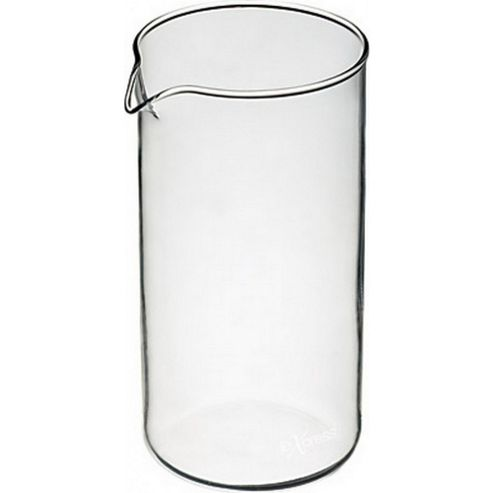 Le'Xpress Replacement Six Cup Glass Jug for Cafetieres