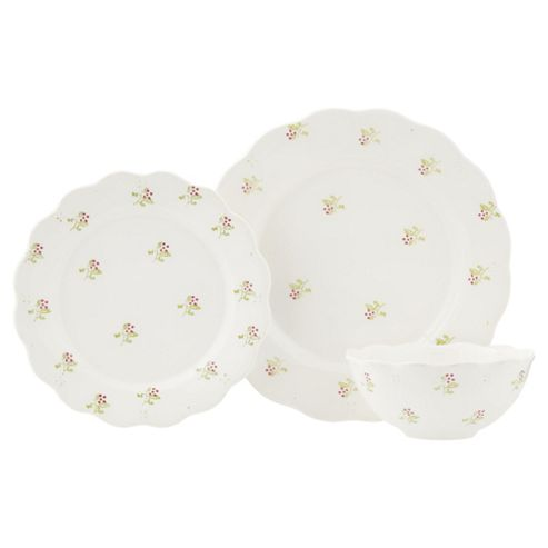 buy wild garden 12 piece dinner set from our dinner plates. Black Bedroom Furniture Sets. Home Design Ideas