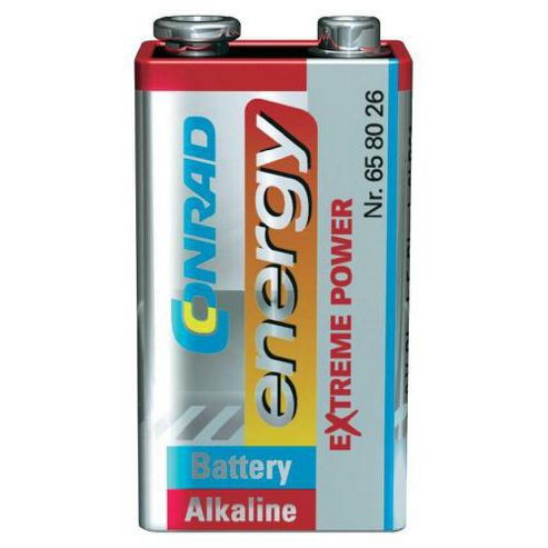Conrad Extreme Power 9V Alkaline Battery