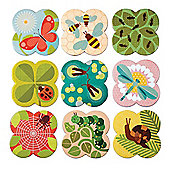 Petit Collage Busy Bugs Memory Game