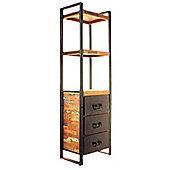 Baumhaus Urban Chic Tall Narrow Bookcase