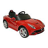 Kids Electric Car Ferrari F12berlinetta 12 Volt Red Gloss