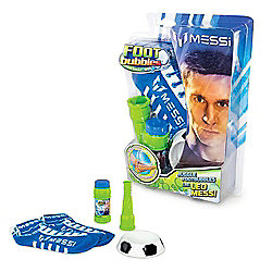 Messi Footbubbles Foot Bubbles Starter Pack with Socks (Blue)
