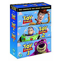Toy Story 1-3 - Collection  (DVD Boxset)