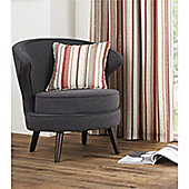 Fusion Melrose Stripe Cushion Cover - Spice 43x43cm
