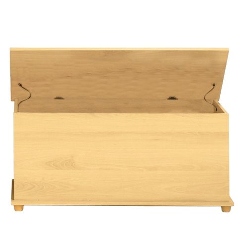 Stamford - Ottoman / Storage Chest With Hinge Lid - Beech