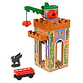 Thomas and Friends Wooden Railway Castle Crane Destination