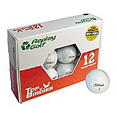 Replay Grade A Refurbished Titleist NXT Tour Golf Balls in White