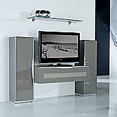 Triskom Exclusive Composition 3 TV Stand - White - Composition 3C