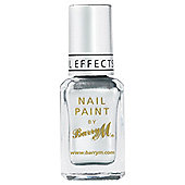 Barry M Nail Paint 319 - Istant Nail Effects Silver Foil