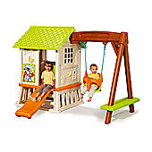 Smoby Disney Winnie The Pooh Hut Playhouse & Swing