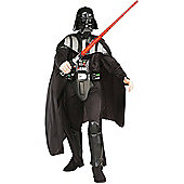 Deluxe Star Wars Darth Vader Fancy Dress Costume