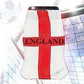 England Large Cross Phone Sock
