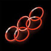 Red Glow Stick Bracelets