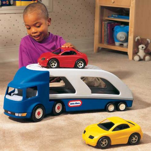 Buy little tikes big car carrier from our toy vehicles for Little tikes motorized vehicles