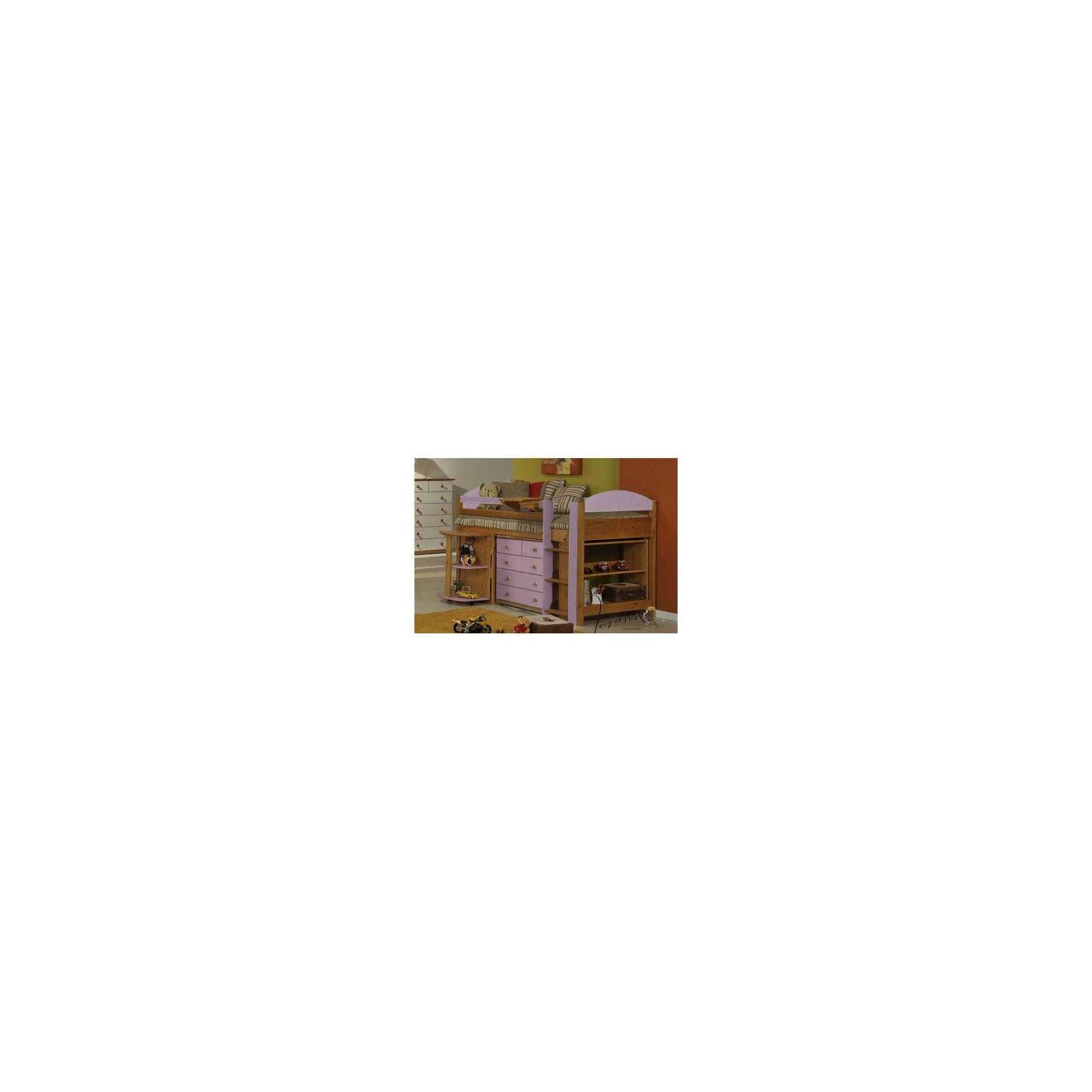 Verona Maximus Midsleeper Bed Frame - Pink at Tesco Direct