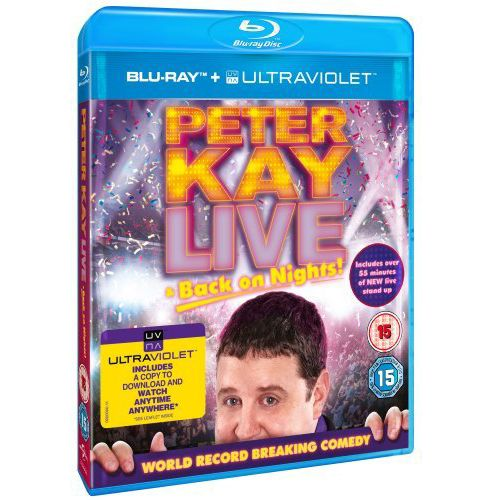 Peter Kay - Live & Back On Nights (DVD)