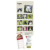 Puppies 2015 Slim Calendar