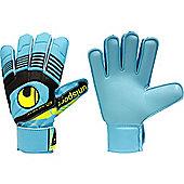 Uhlsport Eliminator Starter Soft Junior Goalkeeper Gloves - Blue