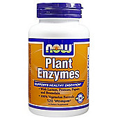 Now Plant Enzymes 120 Veg Capsules