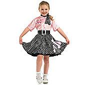 Rock'n'Roll Girl - Child Costume 4-6 years