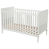 Tesco Cot Bed, White