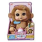 Animal Babies Nursery Deluxe Plush Baby Chimp
