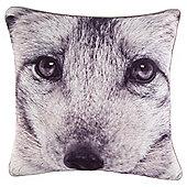 Photographic Wolf Cushion