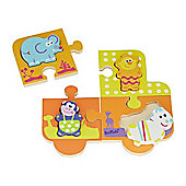 Boikido Wooden Jungle Double Puzzle 12m+