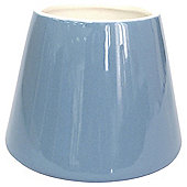Tesco Grey Ceramic Filled Candle