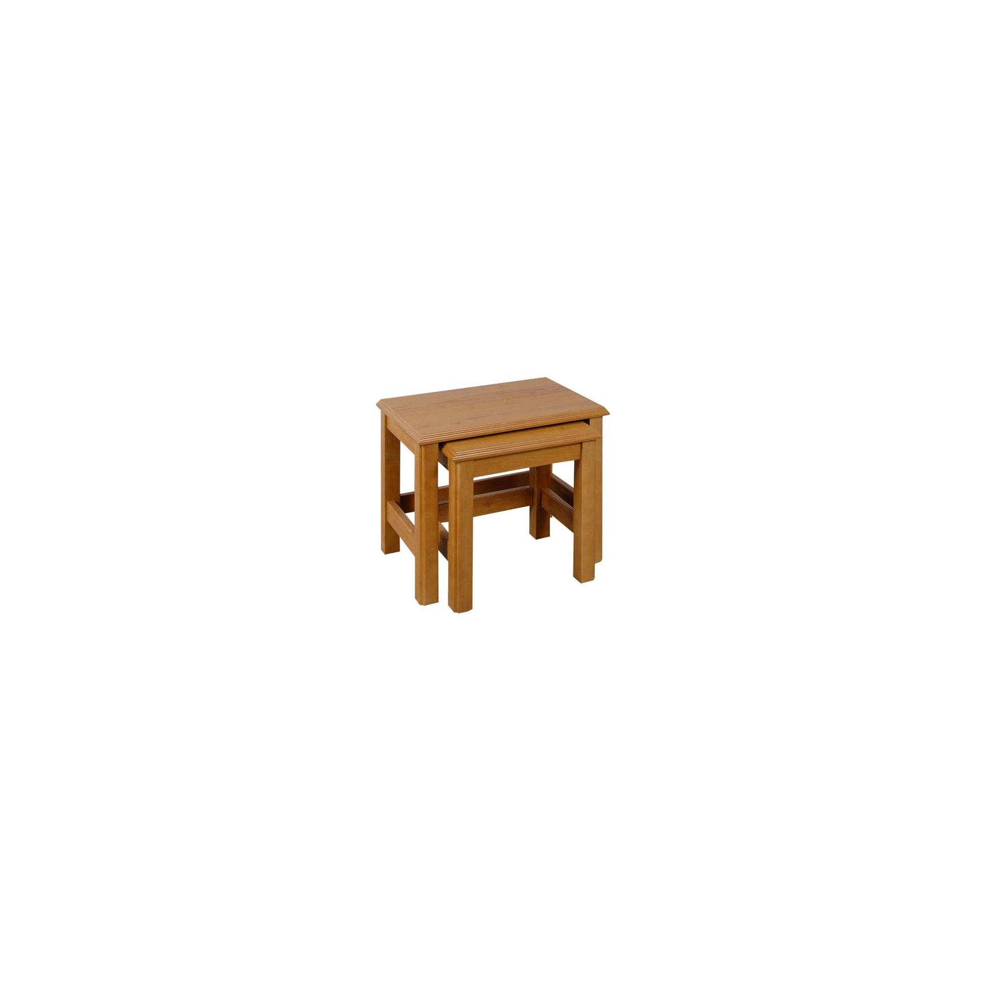 Caxton Canterbury Nest of Tables in Golden Chestnut at Tesco Direct