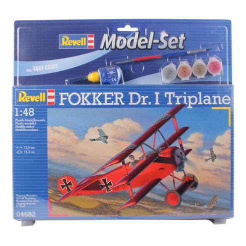 Revell Fokker Dr. I Triplane 1:48 Scale Model Set