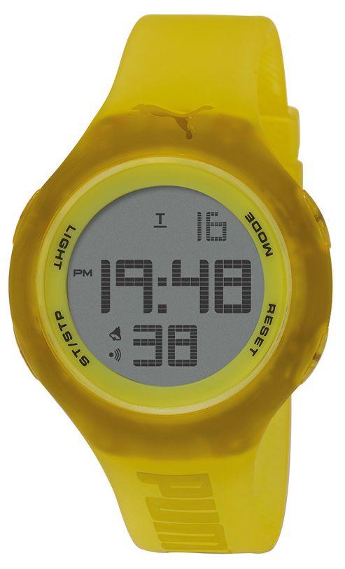 PUMA Active Unisex Plastic Chronograph Date LED Light Watch PU910801023