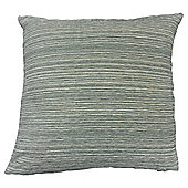 Stripe Chenille Cushion, Blue